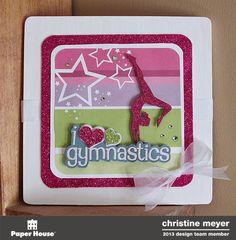 Gymnastics Room Decor - Christine Meyer
