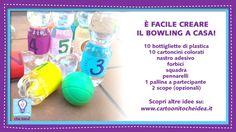 È FACILE CREARE IL BOWLING A CASA!  #CartoonitoCheIdea #Cartoonito #bambini #kids #attività #giochi #indoor #casa #bowling