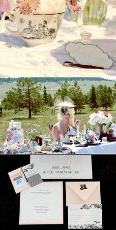 Mad Hatters Wedding Inspiration 3