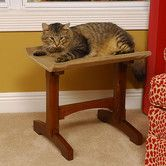 Found it at Wayfair - Craftsman Series Single Seat Wooden Cat Perch