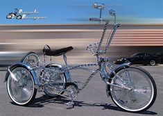 lowrider   easy enough but my mate who is also into lowrider bikes and has a few ...