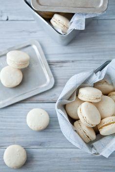 Macarons via Tartelette