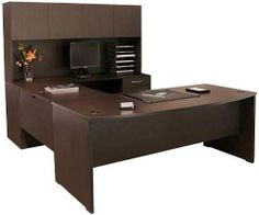 u shaped desk with hutch hda170 by regency furniture letter and legal
