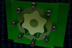 Gerotor Pump Mechanism - STEP / IGES,SketchUp,SOLIDWORKS,Parasolid,AutoCAD,Autodesk 3ds Max - 3D CAD model - GrabCAD