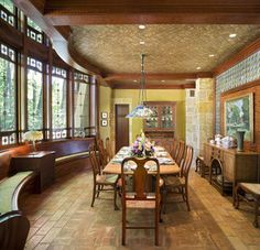 Arts & Crafts Residence - Dining Room