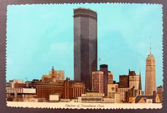 Minneapolis Minnesota Postcard, IDS Tower, 1972