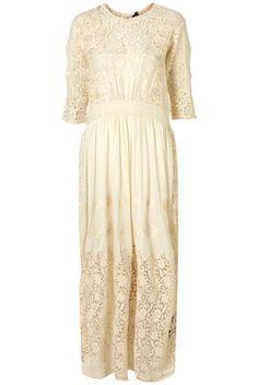 Cream Vintage Bridal Dress By Boutique** ($200-500) - Svpply
