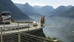 View over the Geirangerfjord, Norway - Photo: CH/Innovation Norway