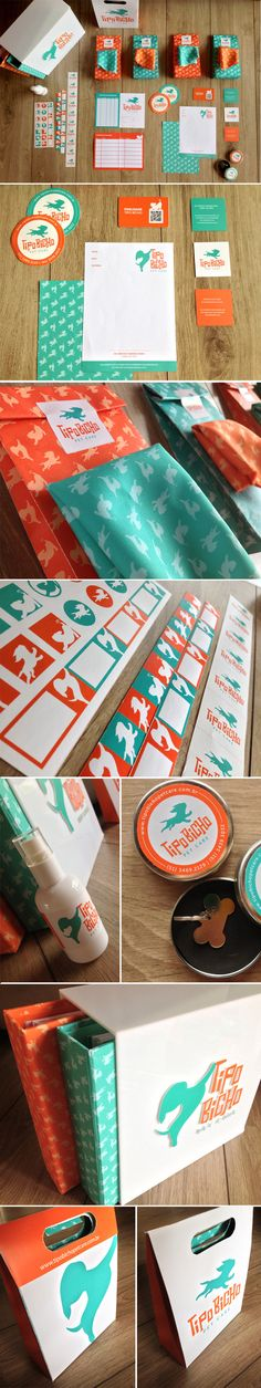 Tipo Bicho - Pet Care by Bruna Weber, via Behance