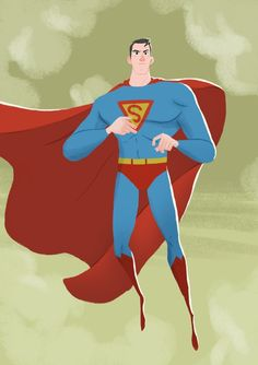 Nicolas Rix: Vintage Superman for Sketch Dailies
