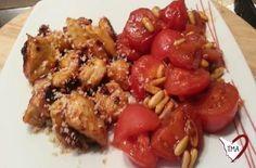 Petto di pollo in agro-dolce-piccante