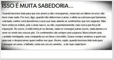 #AutoAjudaDoDia