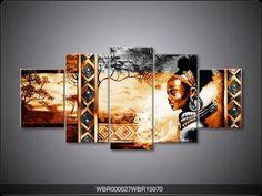 cuadros africanos tripticos - Buscar con Google