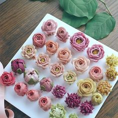 Buttercream flowers!