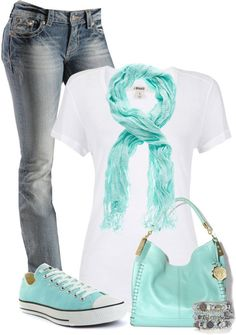 """There's that color again.....LOVE IT!!!"" by cindycook10 on Polyvore"