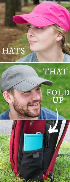 The tried-and-true baseball cap gets a few smart upgrades that make it easier to have on-hand. Foldable, crush-proof, and UPF 50+ sun protective. This hat folds up for easy travel.