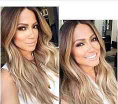 Obsessed with her hair color