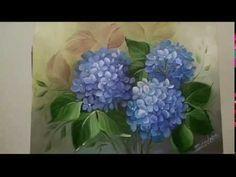Pintura de Hortênsias