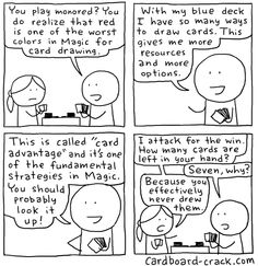 Cardboard Crack - Magic: The Gathering Comics