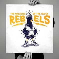 Rebels by HeyTreka, via Behance