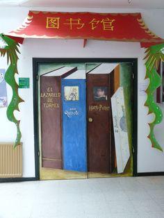 puertas aula china pagoda - Buscar con Google