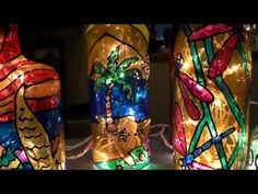 Ever wonder what to do with those old glass bottles? Some look so nice it's hard to throw them away! Well Carol Z collects them and makes lighted gifts out of them!  Great for the office, den, bedroom, kitchen or any counter top that could use a little light!  Order one today  www.kayaknature.com