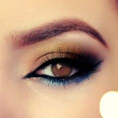 Rock a sea and sun inspired look on your deep brown eyes for a truly Summery look.