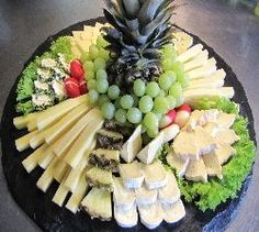 Serve picture result for cheese plate - Party - Wurst Party Trays, Party Buffet, Snacks Für Party, Food Buffet, Food Platters, Cheese Platters, Comida Baby Shower, Appetizer Recipes, Appetizers