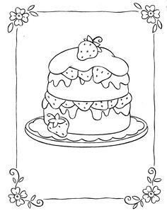 coloring book pages to print | Strawberry Coloring Pages | Coloring Pages To Print
