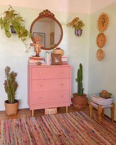 Small Apartment Decorating, Interior Decorating, Interior Design, Apartment Ideas, Bohemian Interior, Bohemian Decor, Bedroom Vintage, Vintage Decor, All The Colors