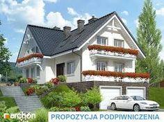 Znalezione obrazy dla zapytania dom w skarpie projekty