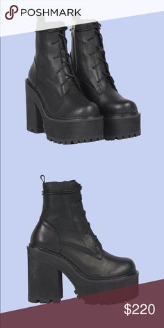 ca391d503 Shop Women s UNIF size 6 Heeled Boots at a discounted price at Poshmark.  Description  ISO ISO ISO PLS if anybody is selling UNIF choke boots pls let  me know ...