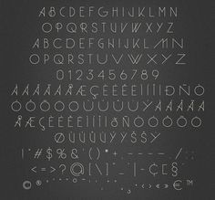 Herbie (Display Font) - Herbie is a uppercase display font with alternates on every character (lowercase), based only on circles and geometric lines. Herbie is inspired by, as the name might indicate, Herb Lubalin's work and the decorative style and kerning of his era.