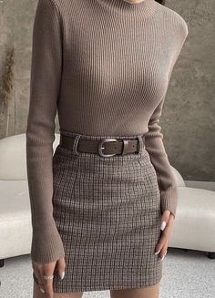 Casual Work Outfits, Professional Outfits, Mode Outfits, Classy Outfits, Vintage Outfits, Fashion Outfits, Minimal Fashion, Work Fashion, Aesthetic Fashion