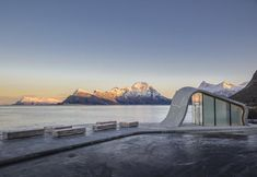 Il bagno pubblico panoramico in Norvegia a Ureddplassen - Elle Decor Italia