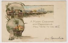 Oxfordshire postcard - Ifley Mill, Near Abingdon - Early card - P/U 1903