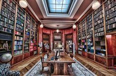 Library reading room at Scottish Rite by tfinzel, via Flickr