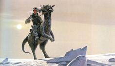 Tauntaun - Ralph McQuarrie Star Wars