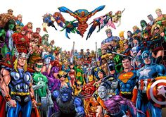 Interest in a Justice League vs. Avengers comic crossover