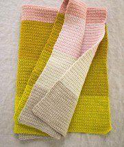 Crocheted Super Easy Baby Blanket | Purl Soho