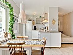How a Little Swedish Apartment Lives Large
