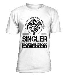 SINGLER My Veins Name Shirts