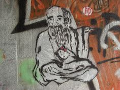 Confucius meets Hello Kitty. What a match.