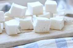 Healthy Sweet Treats, Healthy Cookies, Marshmallows, Feta, Paleo, Food And Drink, Low Carb, Sweets, Cheese