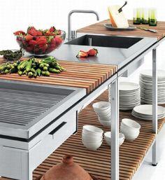Natural delight Viteo Outdoor Kitchen  Hometone