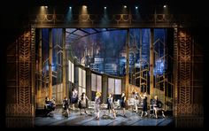 Thoroughly Modern Millie. Prism Theatrics. Scenic design by Paul Tate dePoo III. 2014.