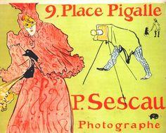 Lautrec the photographer sescau (poster) 1894 - Henri de Toulouse-Lautrec - Wikipedia, la enciclopedia libre