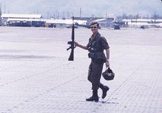 A member of 161 Recce Flight, RAAF, 1971.