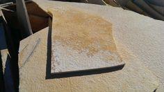 Giallo fossilite NEW   Pietre Raffaele Cileo - Pietra di Trani, marmi, mosaici, graniti, chianche murgiane, edilizia, blocchi
