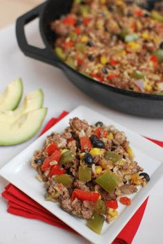 Mexican Skillet Casserole Recipe | Yummly